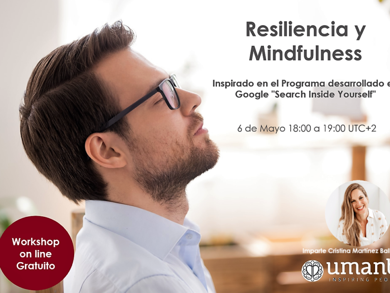 Worshop on line gratuito Resiliencia y Mindfulness